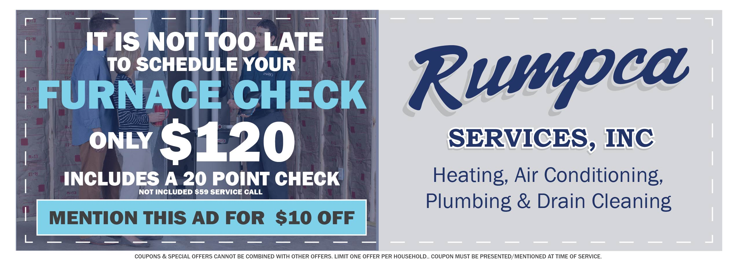 South St Paul MN Furnace Repairs | Spring Discounts